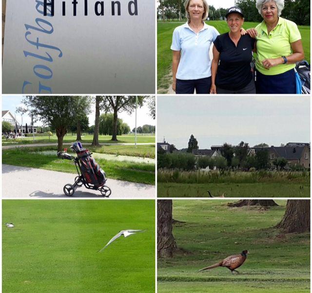 Dames Dagje Uit Golfbaan Hitland